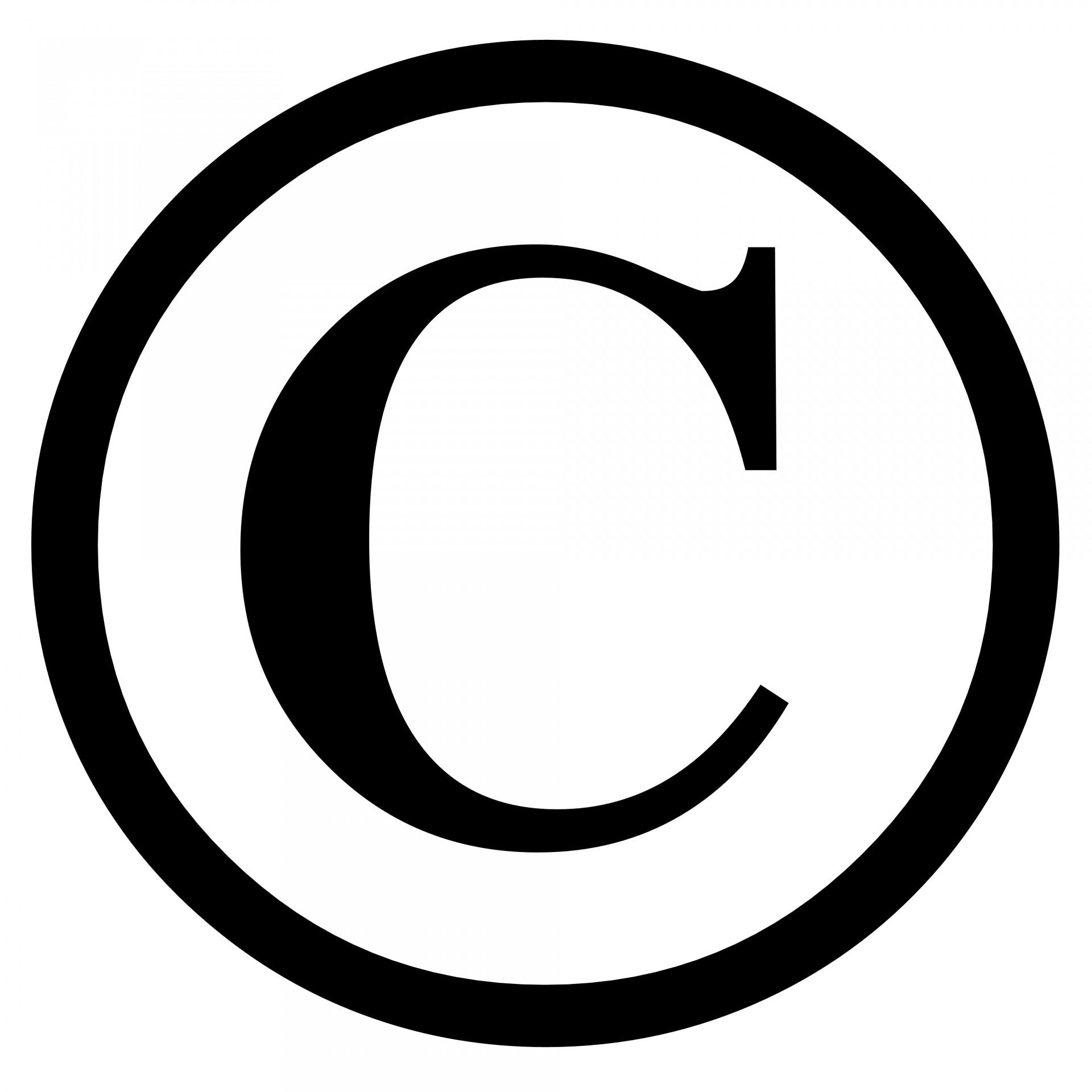 Copyrightnbspsymboliconsignagainstrecording Free Photo From