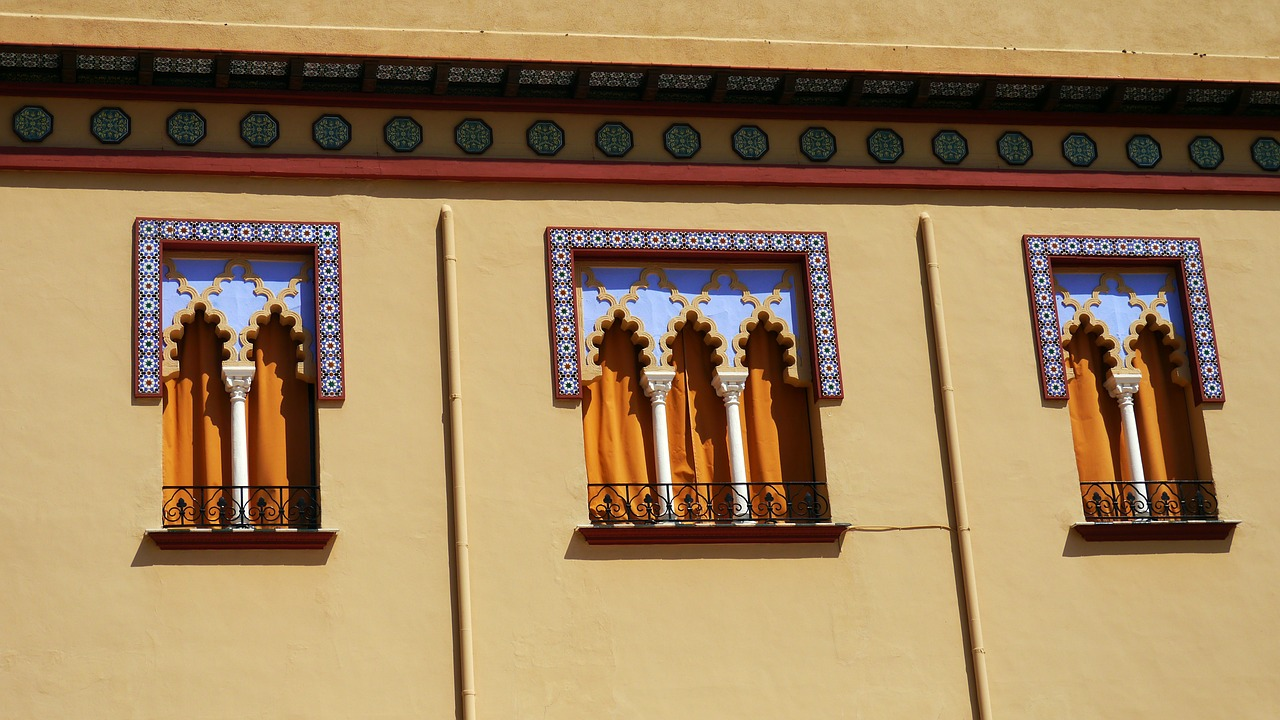 cordoba architecture windows free photo