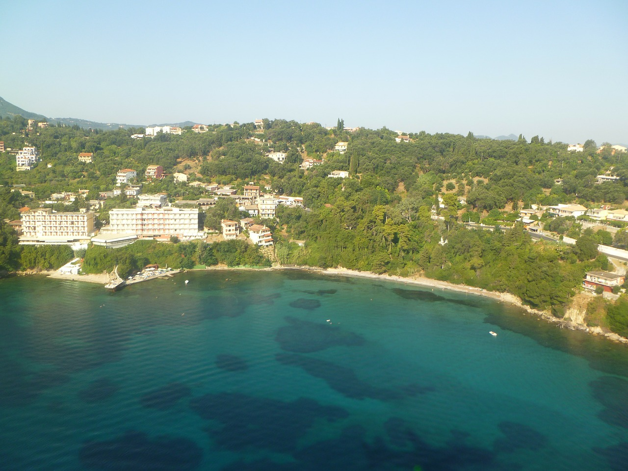 corfu air from the air free photo