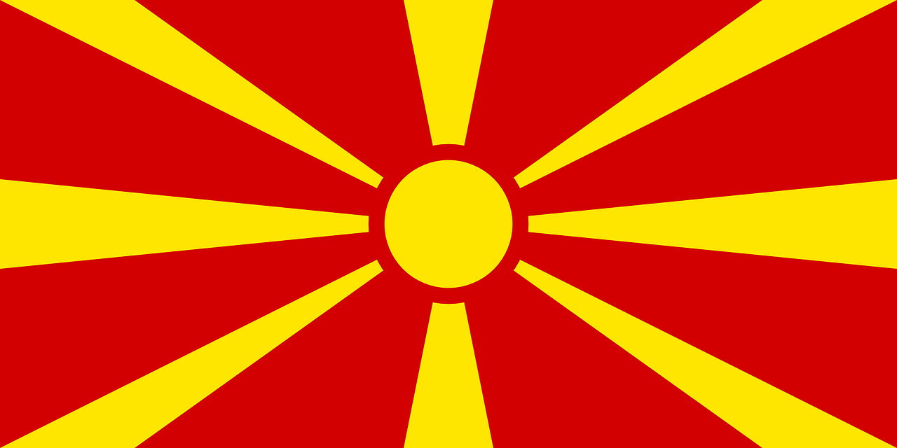 country flag macedonia free photo
