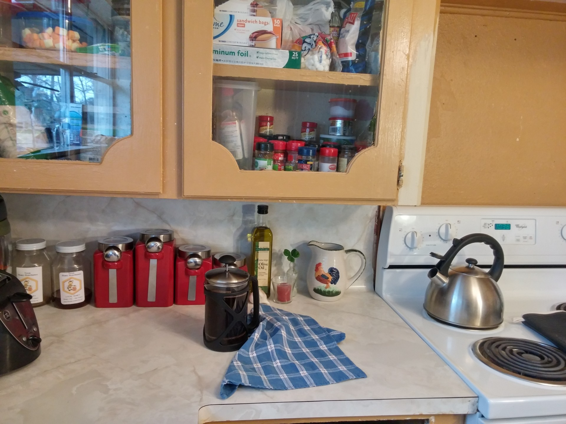 Country,farmhouse,kitchen,canisters,rooster - free image ...