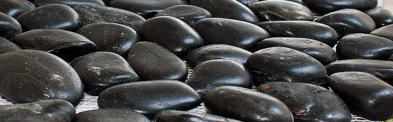 Pebblespebble Matdecorative Stones Wall For Theembarrassedblack
