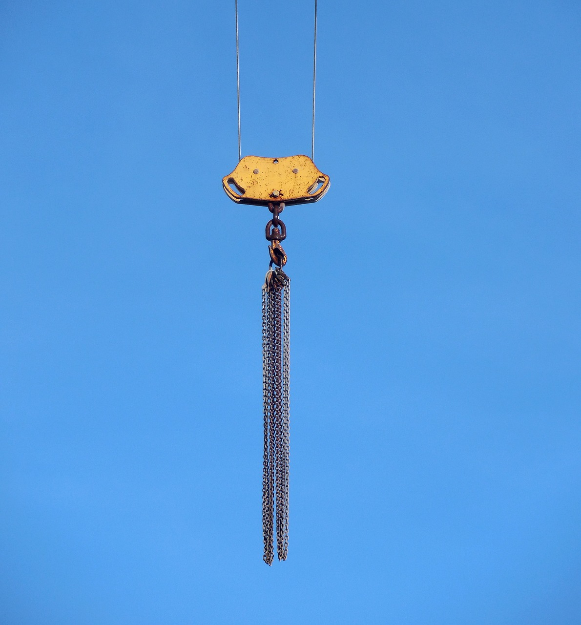 crane hoist slings free photo