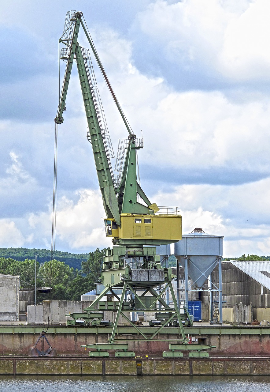 crane port bamberg free photo