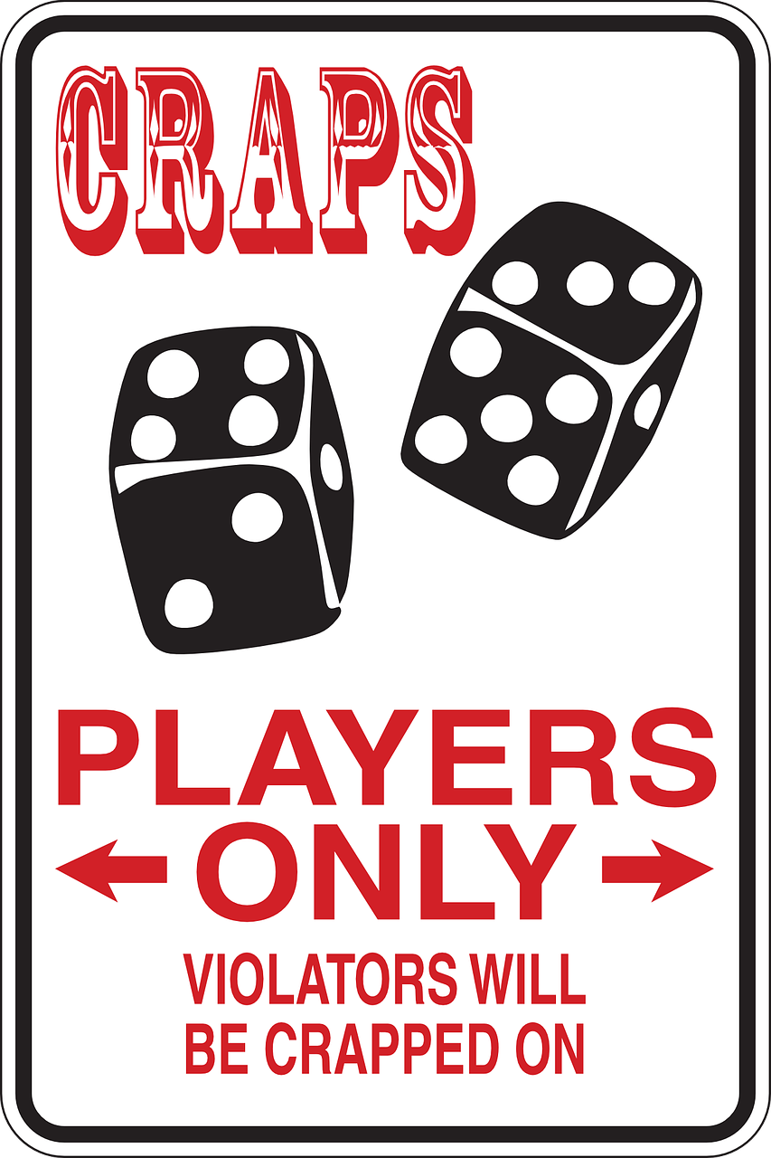 craps players only free photo