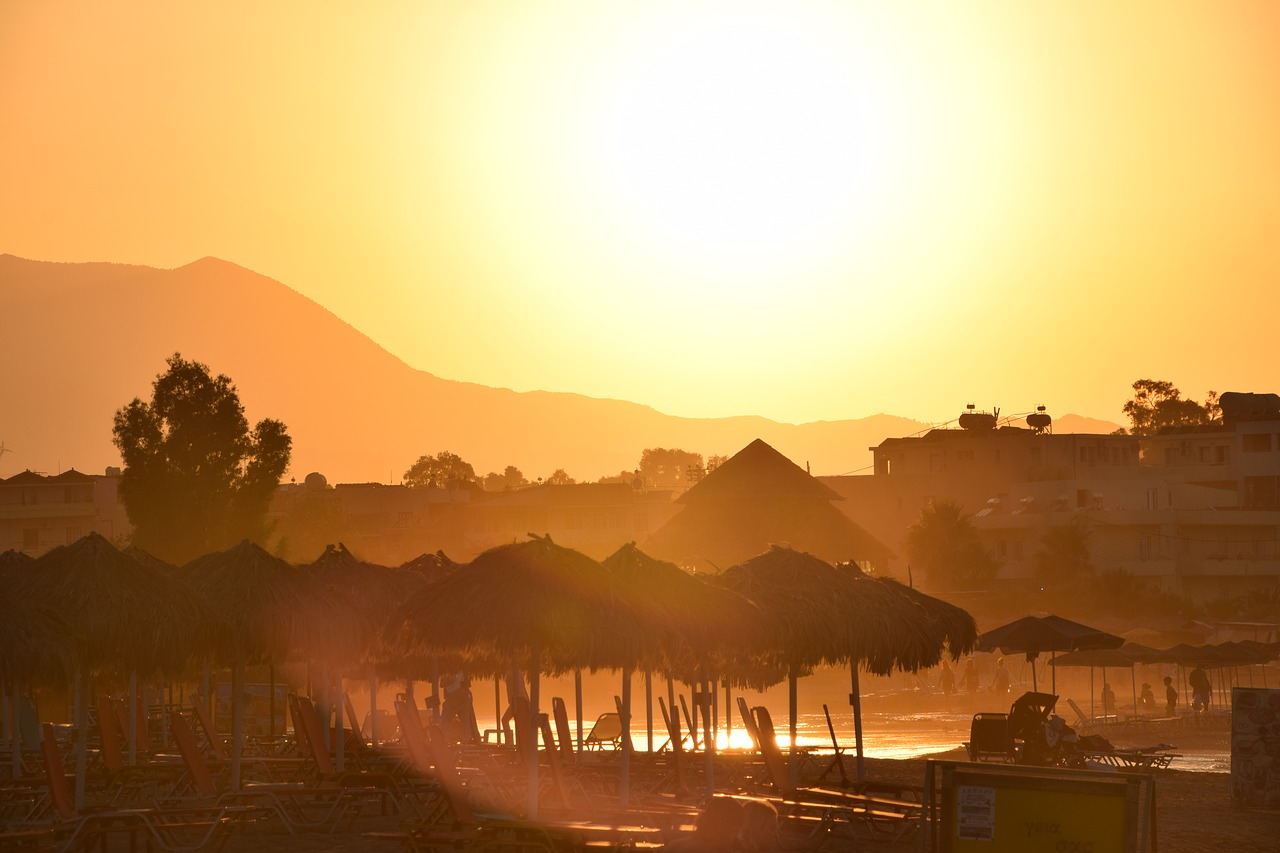crete,sunrise,pilot beach resort,free pictures, free photos, free images, royalty free, free illustrations
