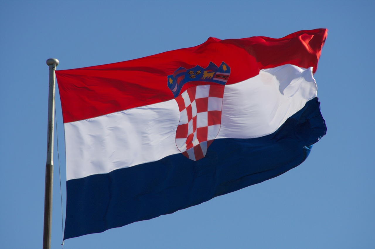 croatia flag croatian flag free photo