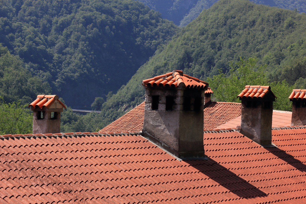 croatia monastery roof free photo