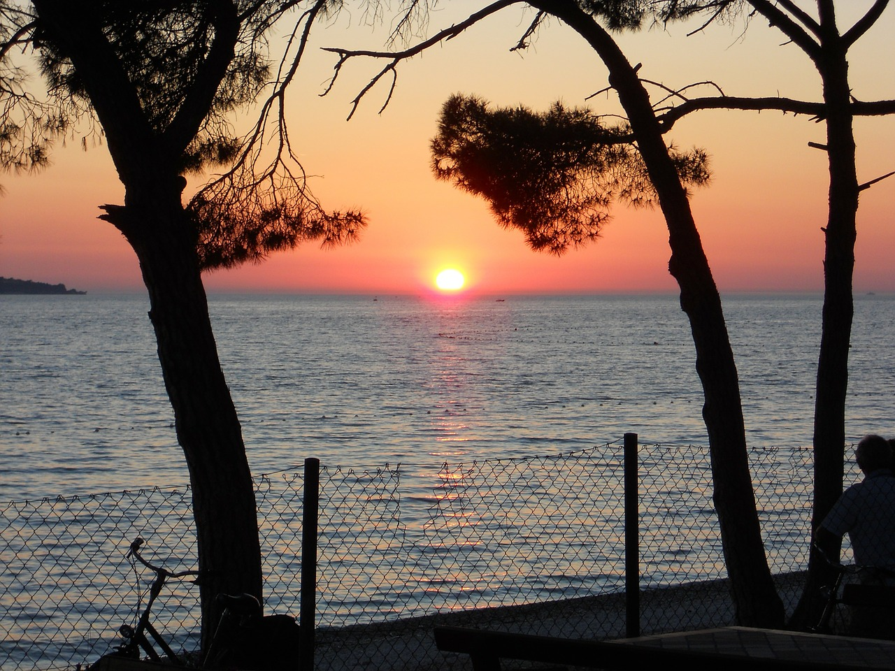 croatia sunset rest free photo