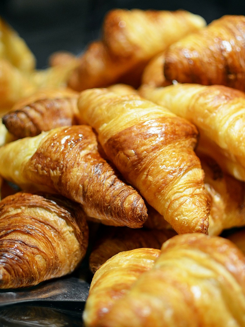 croissant bread food free photo
