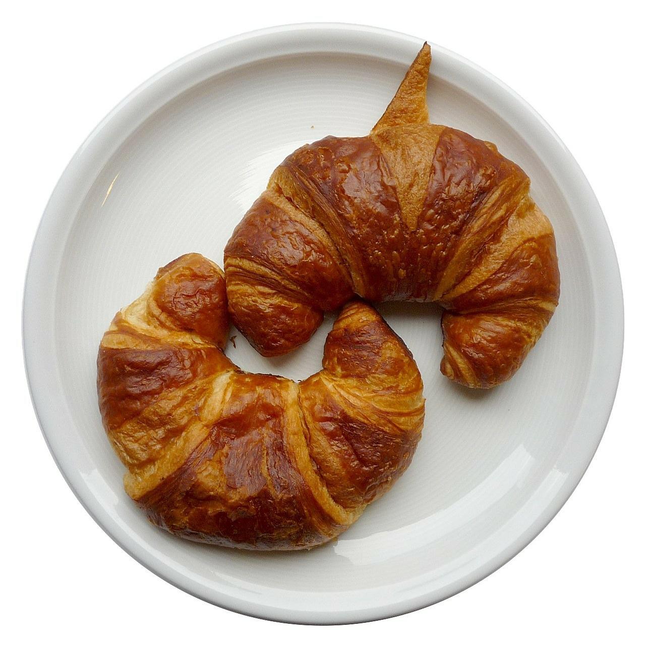 croissants breakfast puff pastry free photo