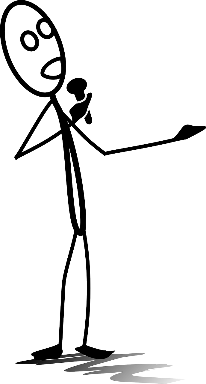 crooner,entertainer,sing,singer,singing,man,stick-man,matchstick man,stick figure,stickman,mic,microphone,free vector graphics,free pictures, free photos, free images, royalty free, free illustrations, public domain