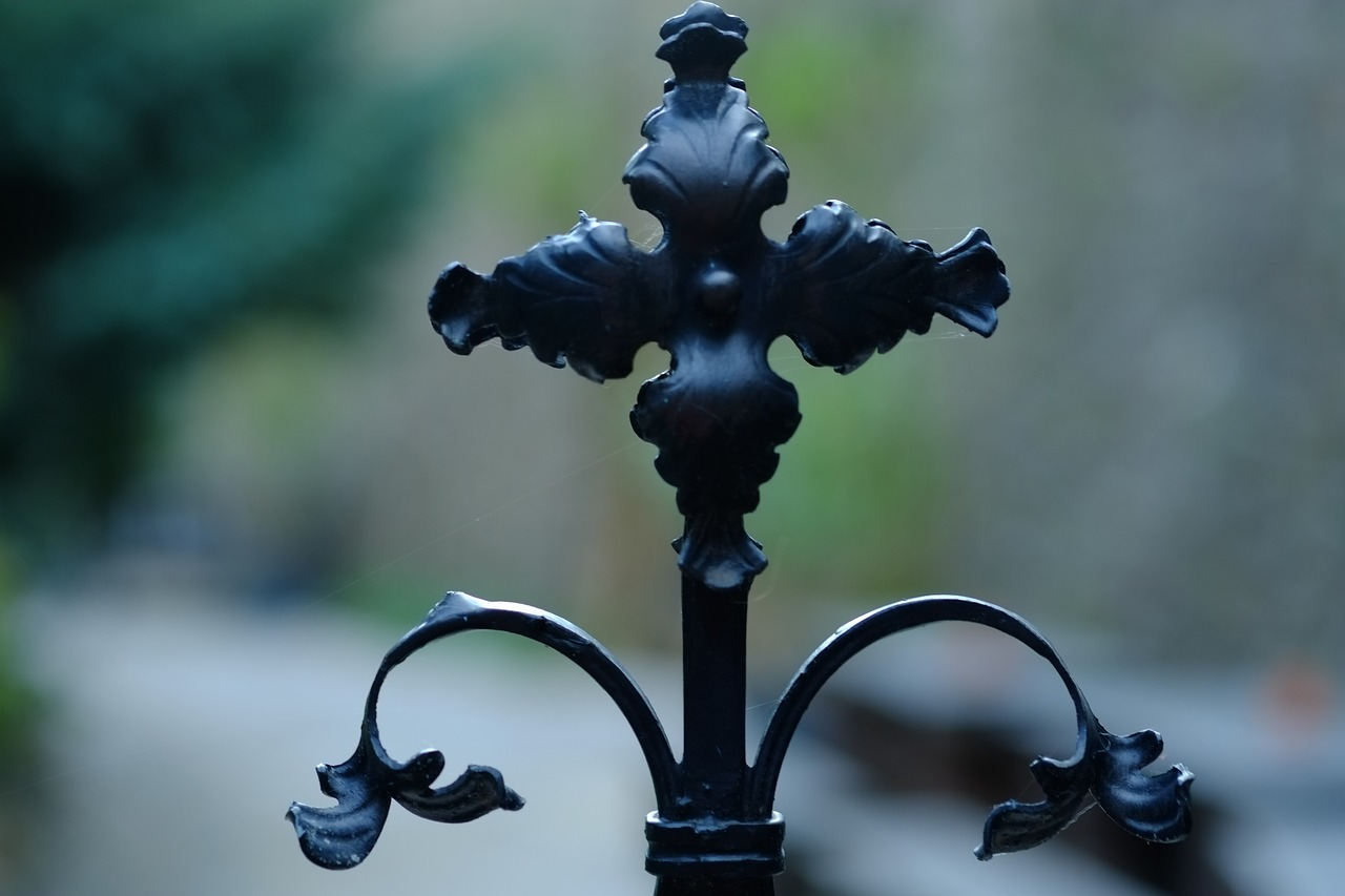 Crosswrought Ironarts And Craftsornamentblack Free Photo From