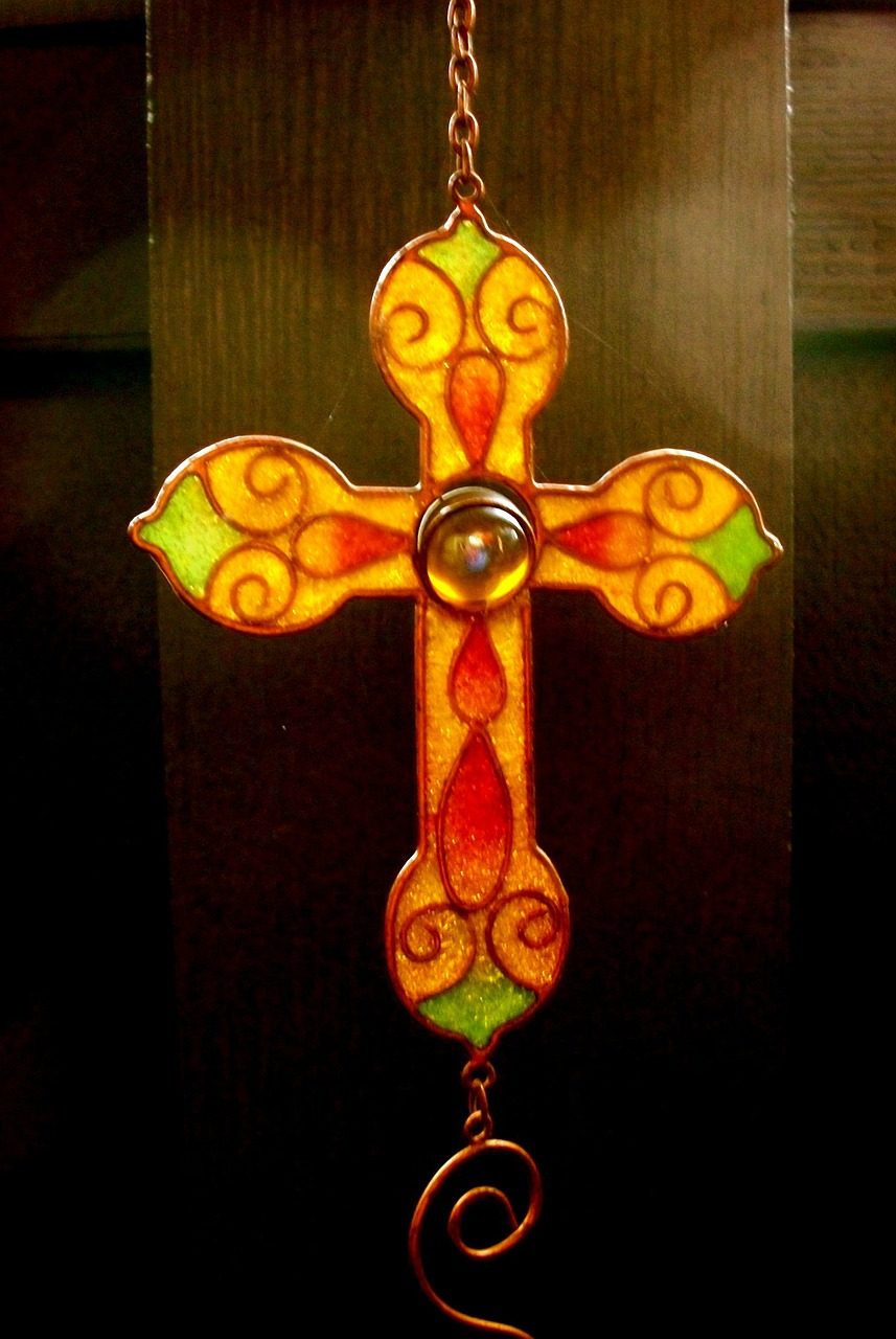 cross ornament vintage free photo