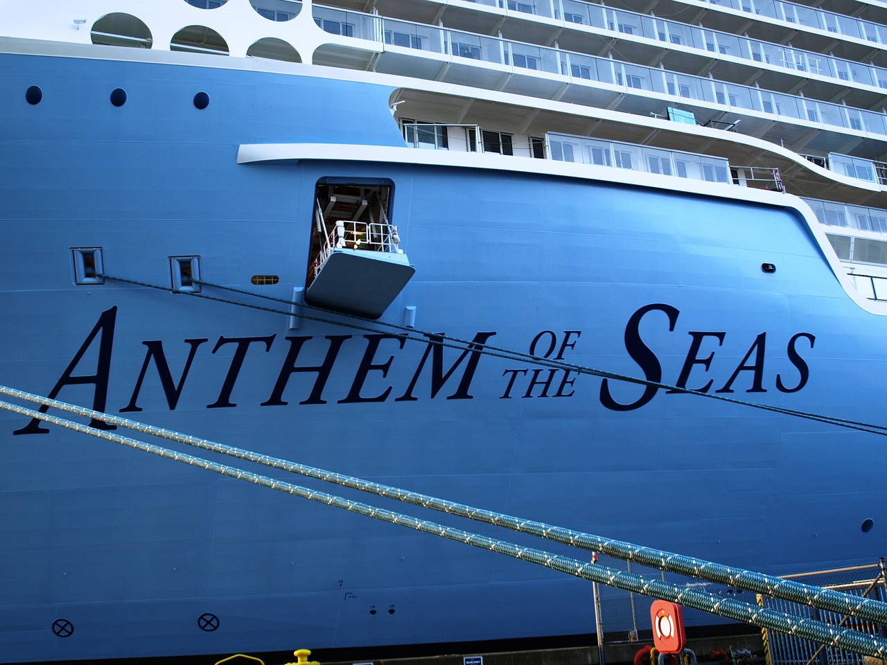cruise ship anthem of the seas ozeanriese free photo
