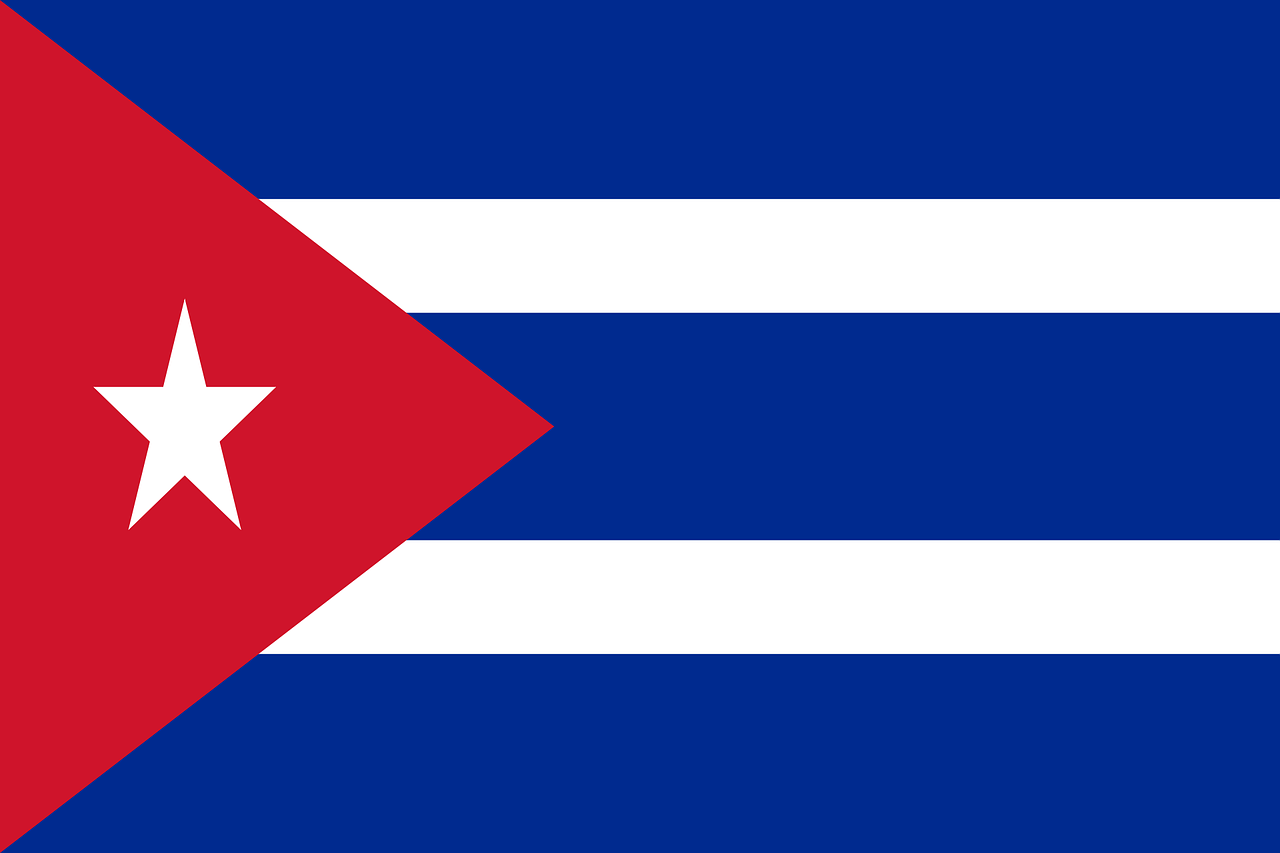 cuba flag national flag free photo