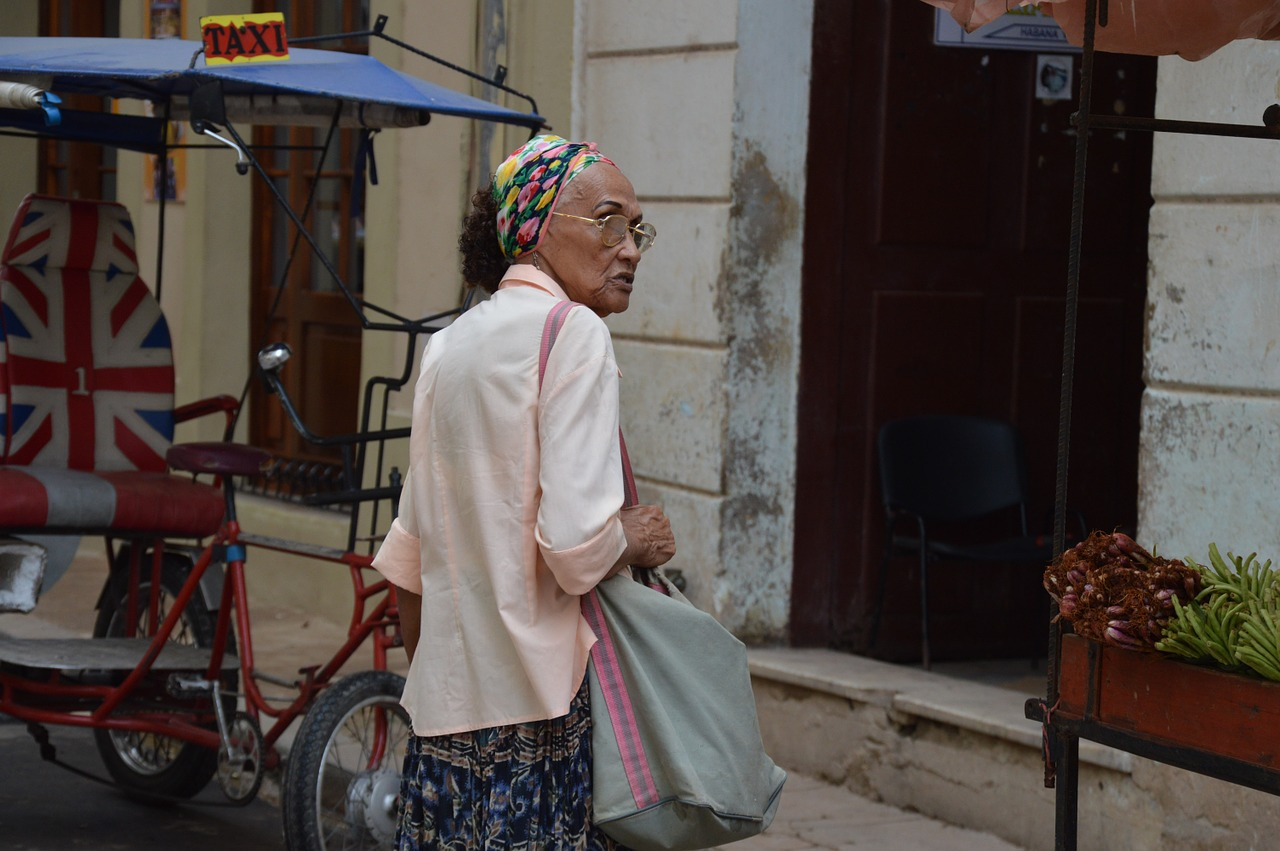 cuban woman havana free photo