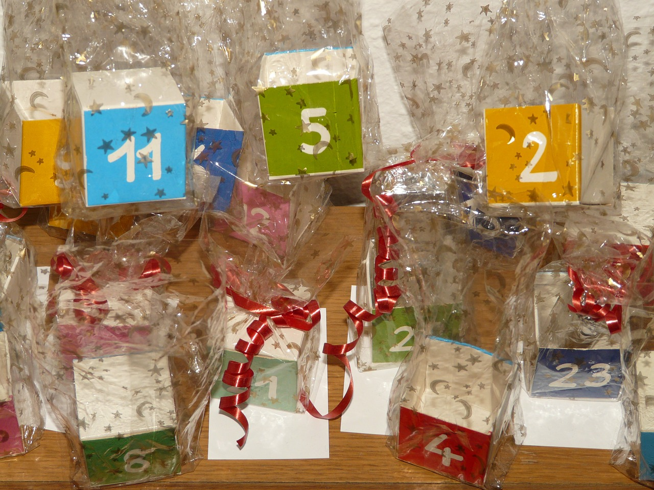 cube number advent calendar free picture