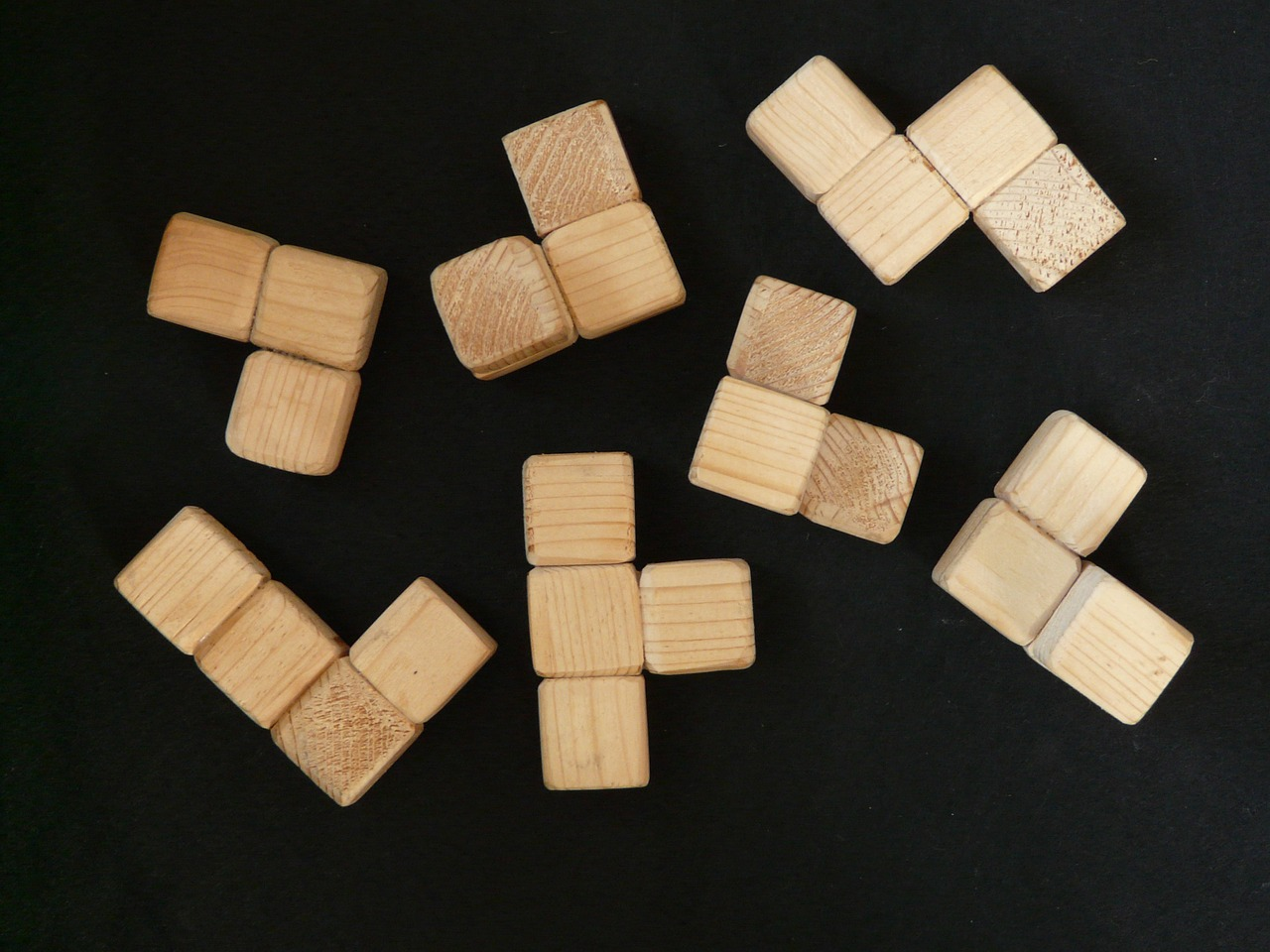 cube wood wooden toys free photo