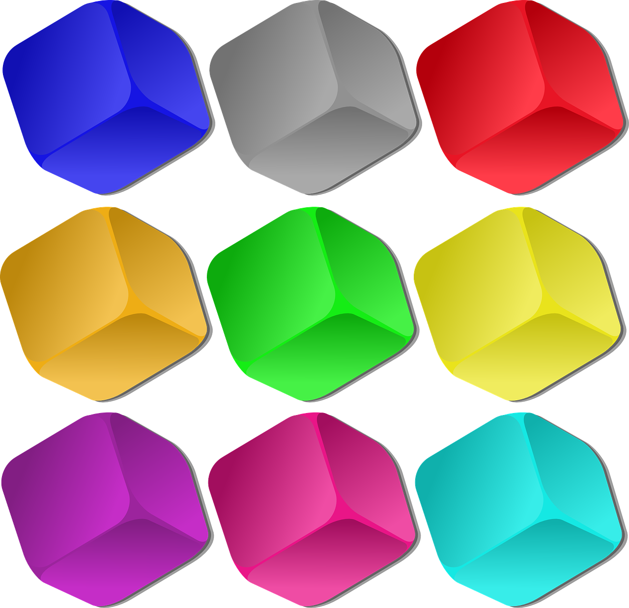 cubes colorful marbles free photo