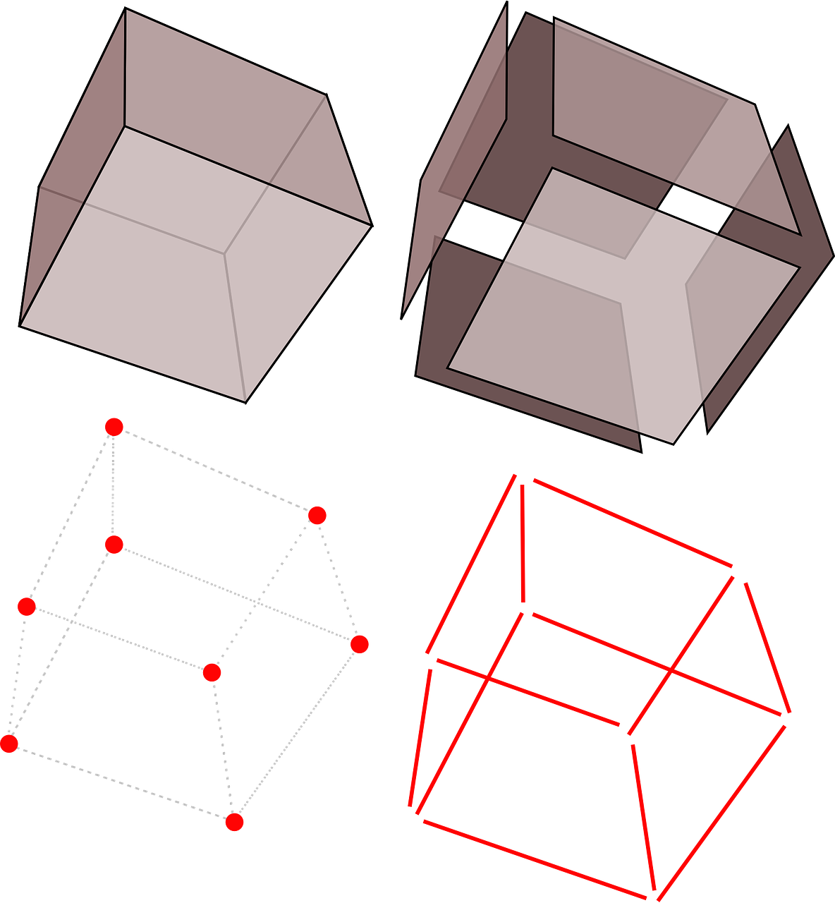 cubes geometry boxes free photo
