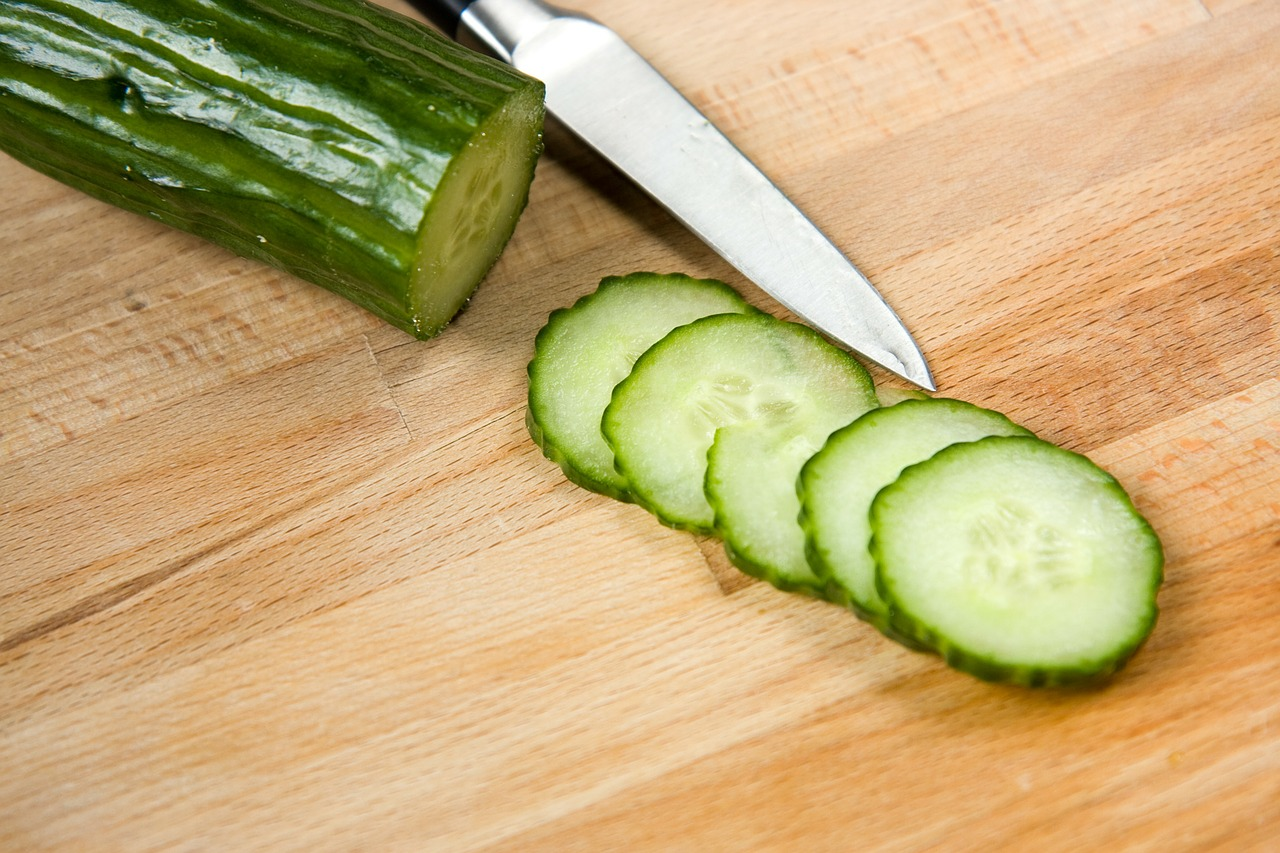 cucumber food vegetable free photo