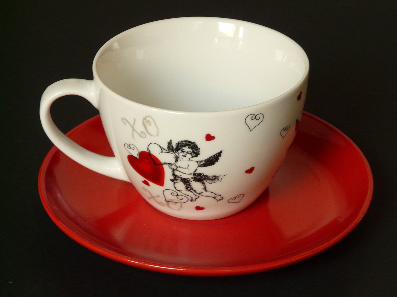 cup plate coaster free photo