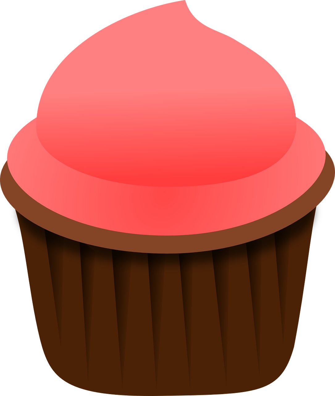 cupcake,pink,food,sweet,dessert,cake,baked,frosting,party,icing,birthday,frosted,cream,cup,buttercream,iced,baking,decorated,celebration,snack,cup-cake,sugar,eating,delicious,unhealthy,fattening,tasty,treat,chocolate,eat,homemade,bake,brown,bakery,free vector graphics,free pictures, free photos, free images, royalty free, free illustrations, public domain