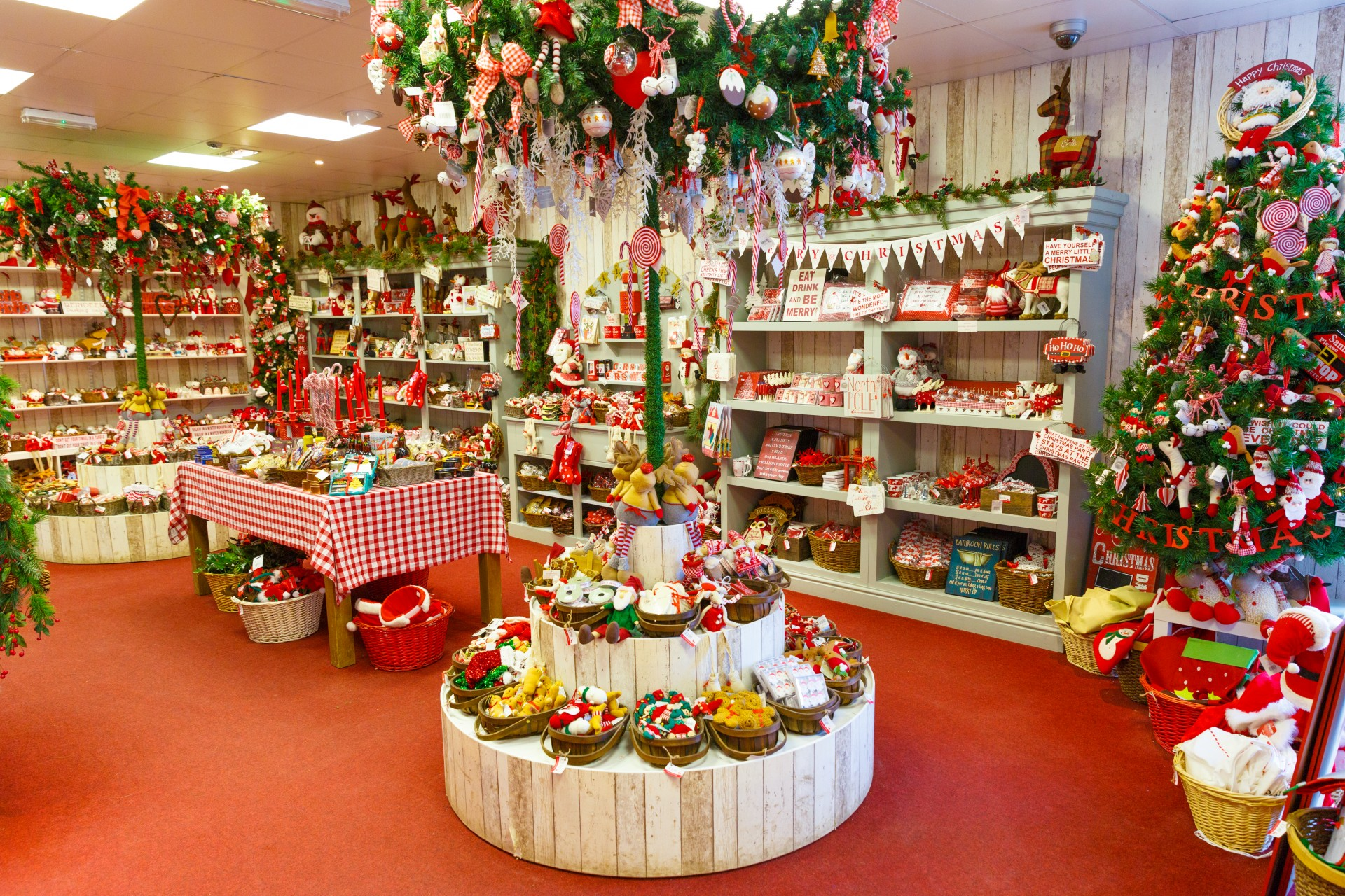 Christmas Shop Shopping Decorations Free Picture