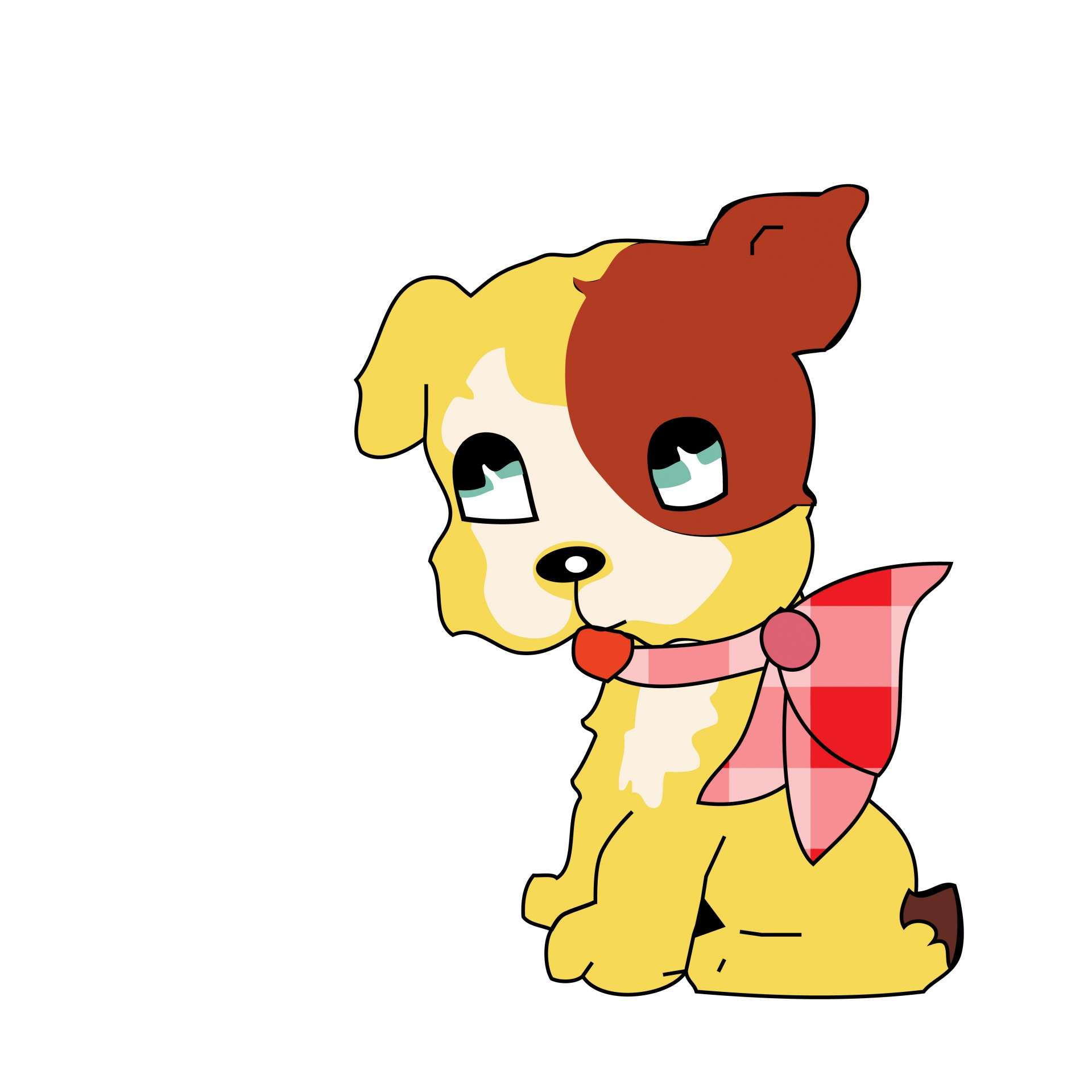 Dog Puppy Cute Clipart Whimsy Free Image From Needpix Com