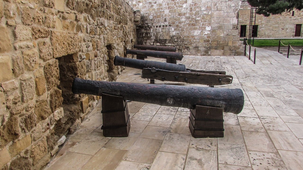 cyprus larnaca fortress free photo