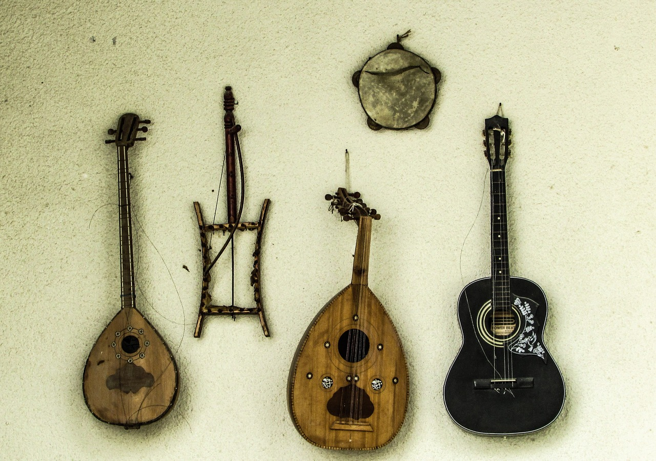 cyprus musical instruments traditional free photo