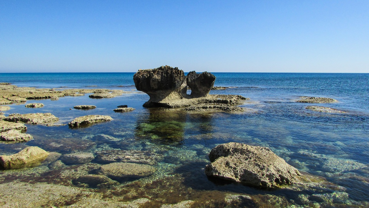 cyprus,cavo greko,rocky coast,clear,crystal,water,coastline,free pictures, free photos, free images, royalty free, free illustrations, public domain