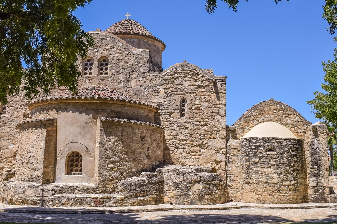 cyprus,kiti,panagia angeloktisti,unesco world heritage,11th century,church,orthodox,medieval,landmark,religion,architecture,historical,christianity,monument,free pictures, free photos, free images, royalty free, free illustrations, public domain