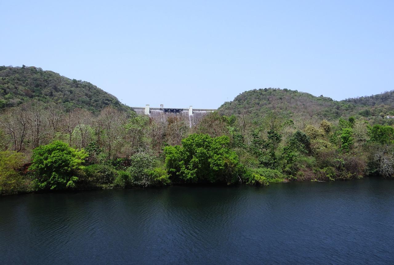 Supa Dam in Dandeli Wildlife Sanctuary