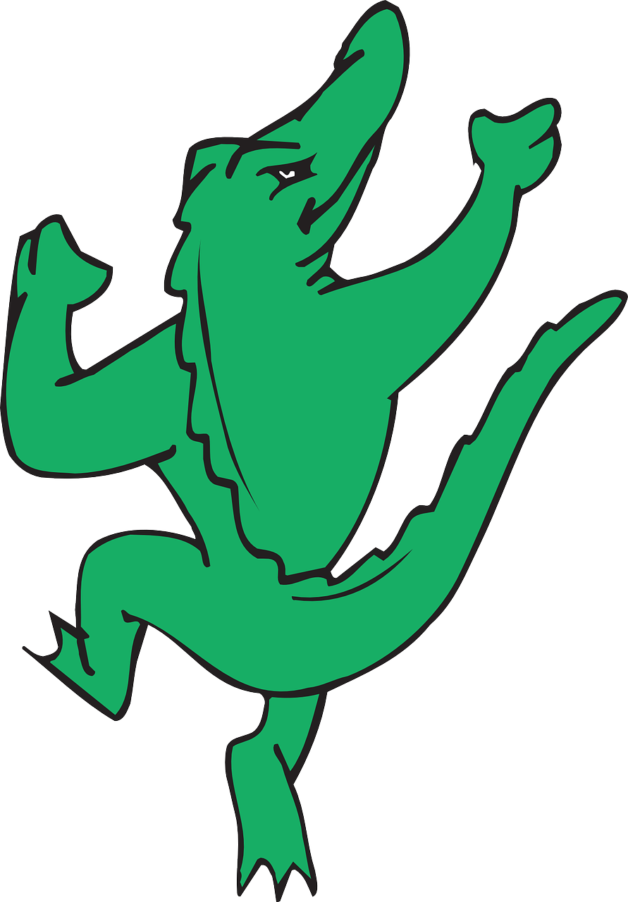 Dance Happy Dancing Alligator Joy Free Image From Needpix Com