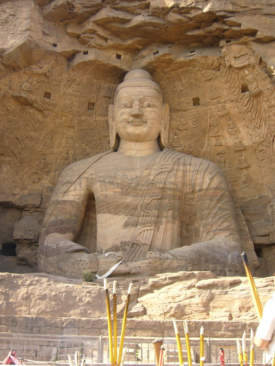 datong china buddha free photo