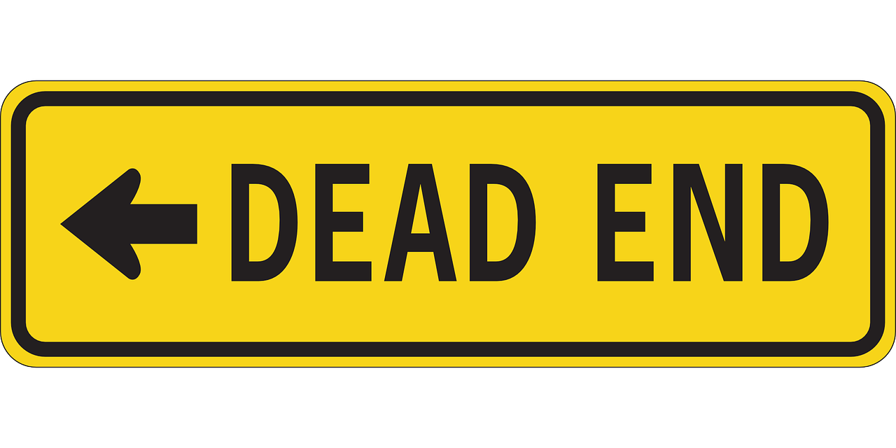 dead end sign free photo