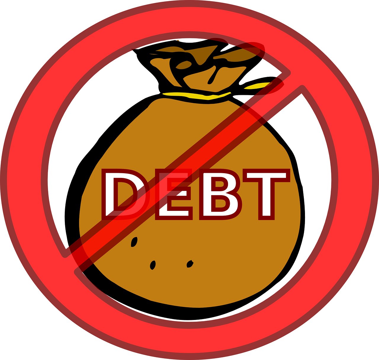 debt eliminate loan free photo