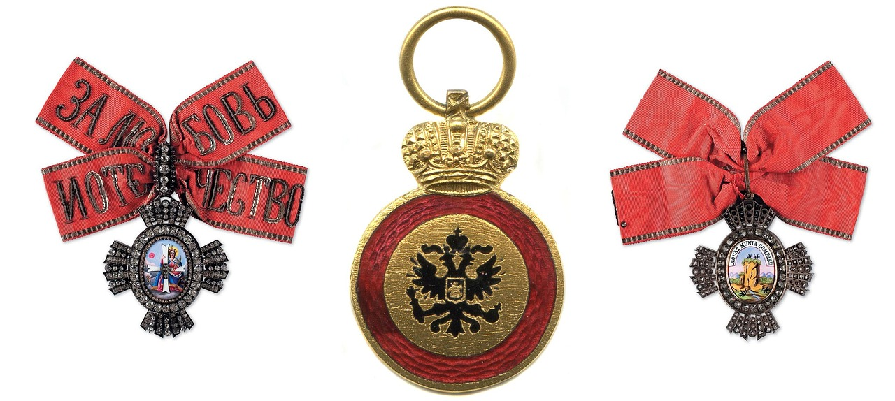 russian empire order decoration royal award free photo