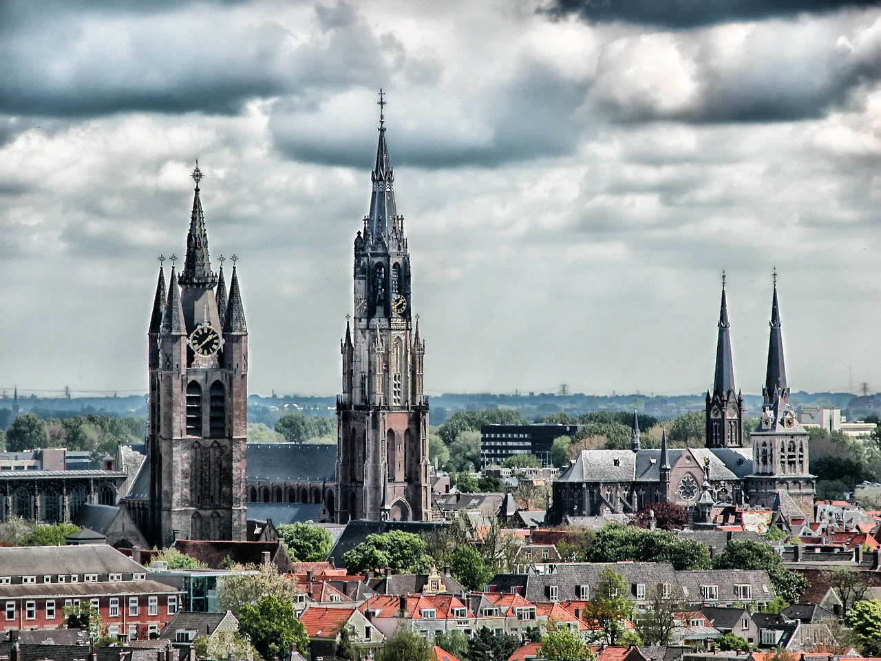 delft netherlands city free photo