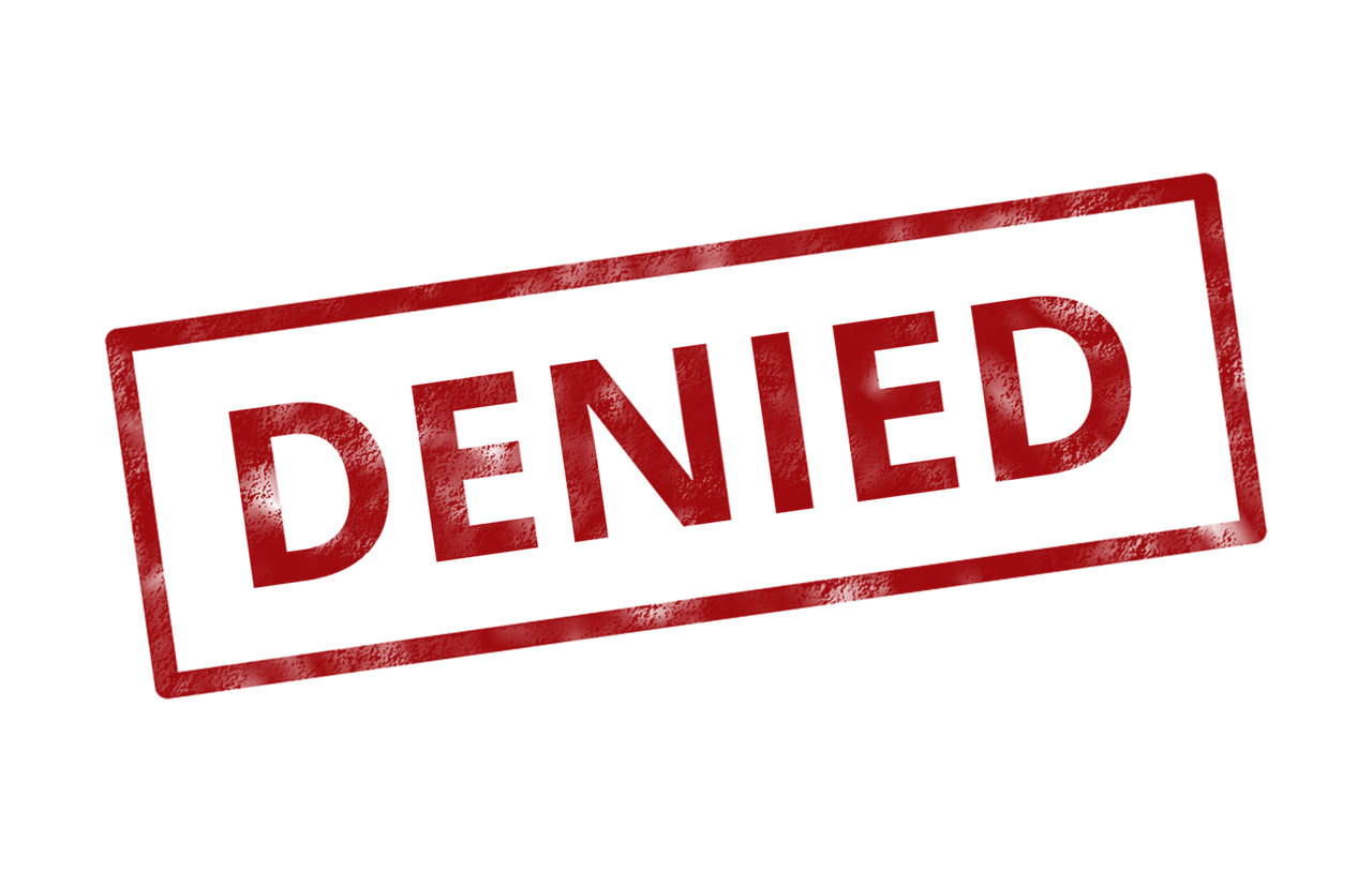 Image result for denied