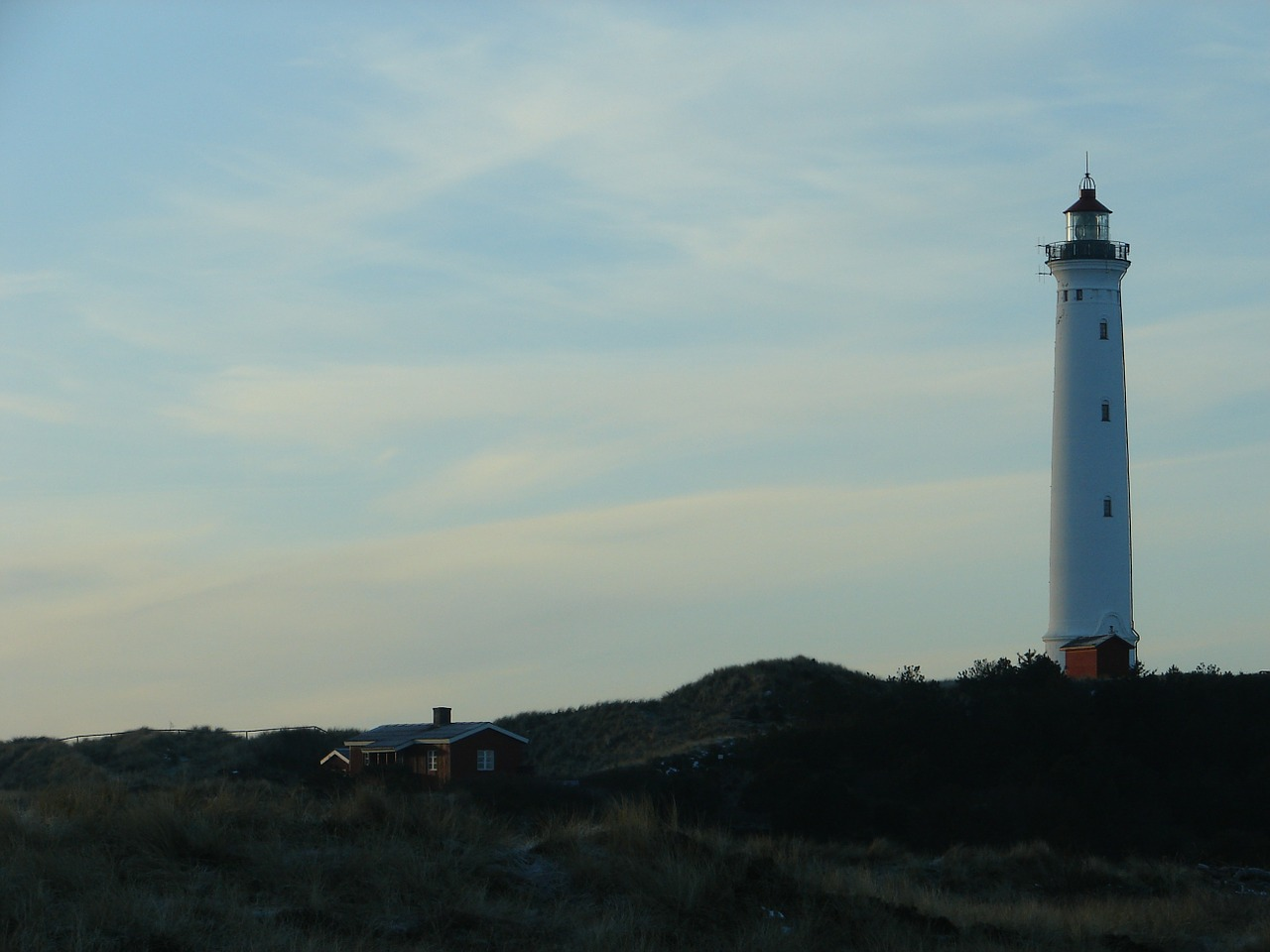 denmark lighthouse coast free photo