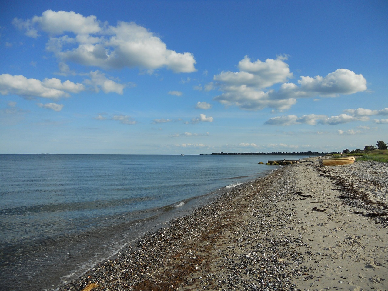 denmark baltic sea coast free photo