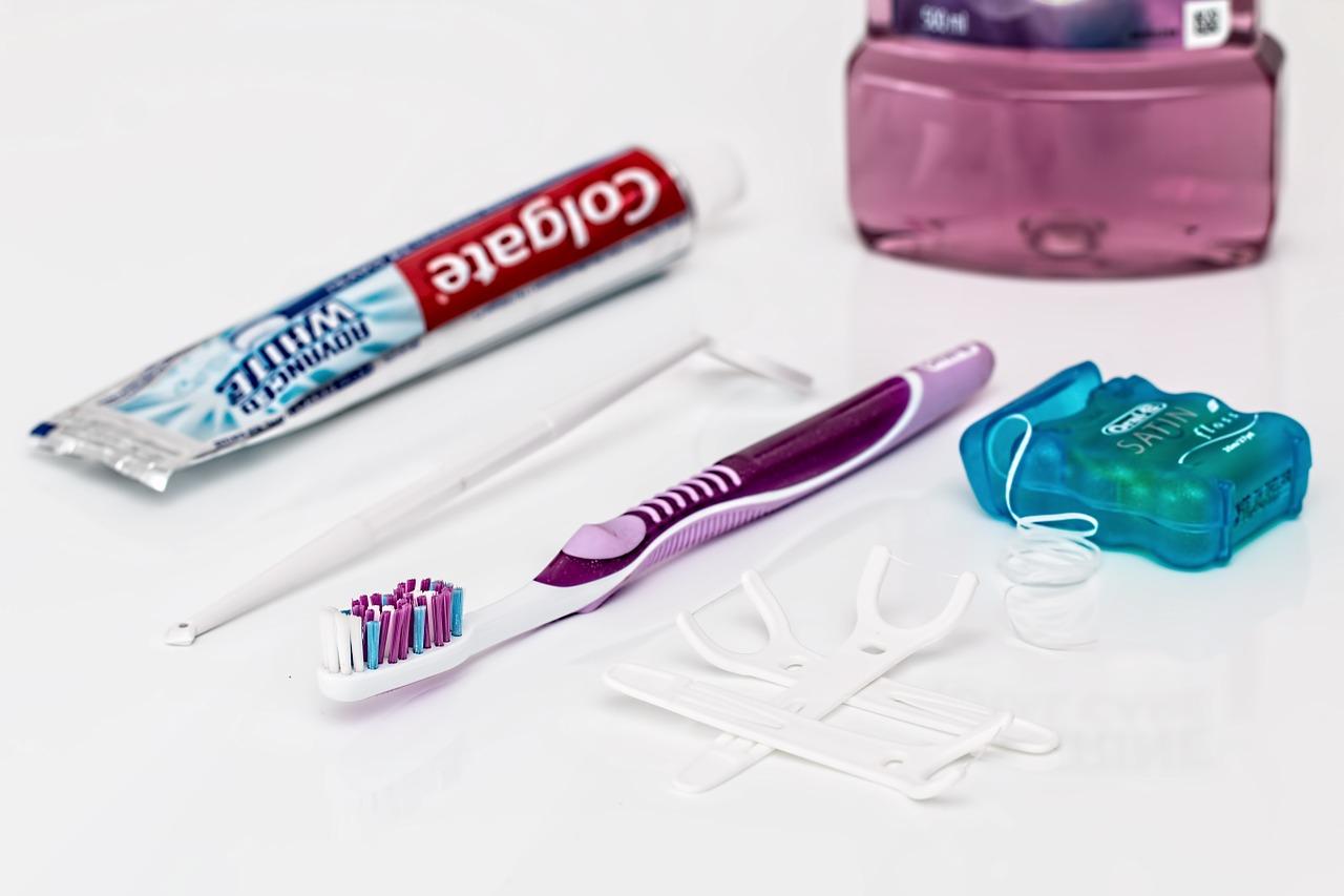 Dental,toothpaste,toothbrush,dental floss,mouthwash - free image ...