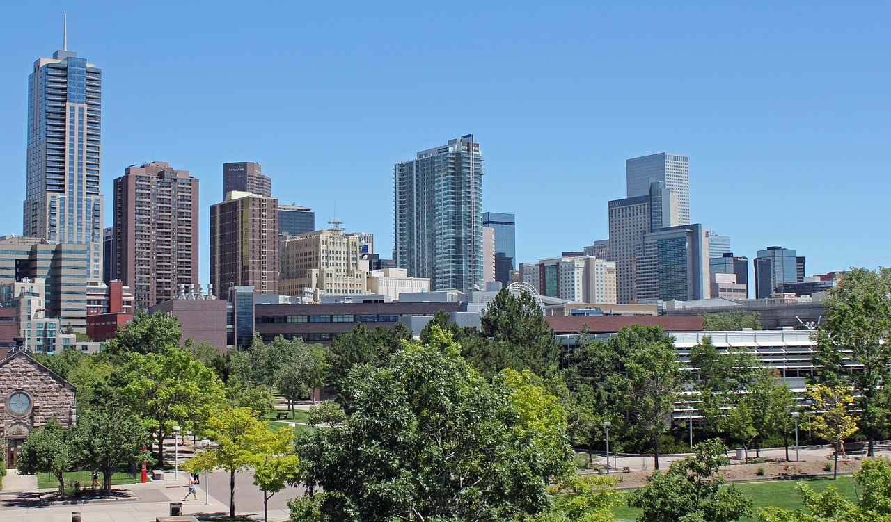 denver colorado city free photo