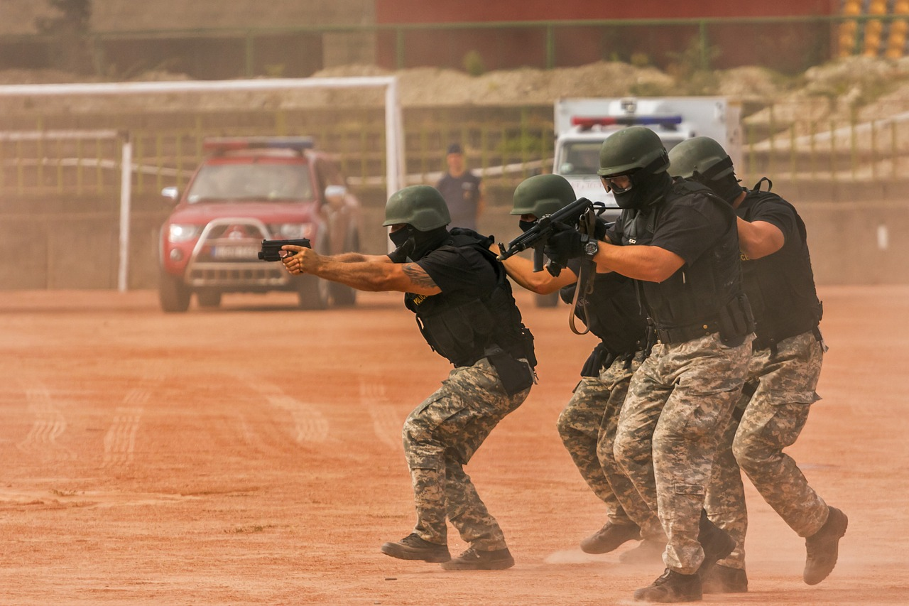 deployment practice action free photo
