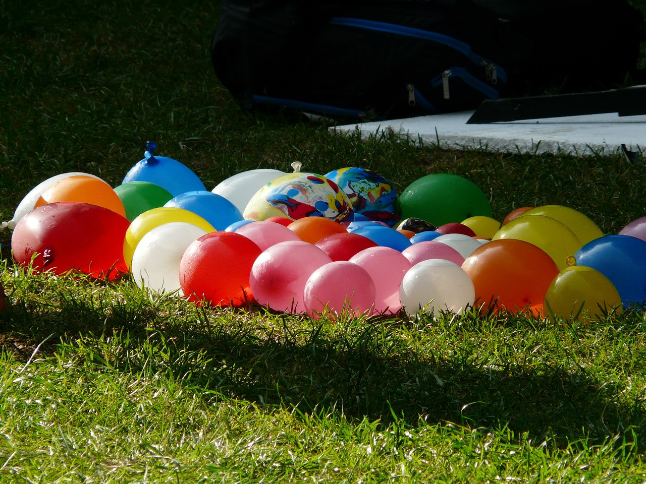 depth charges balloons colorful free photo