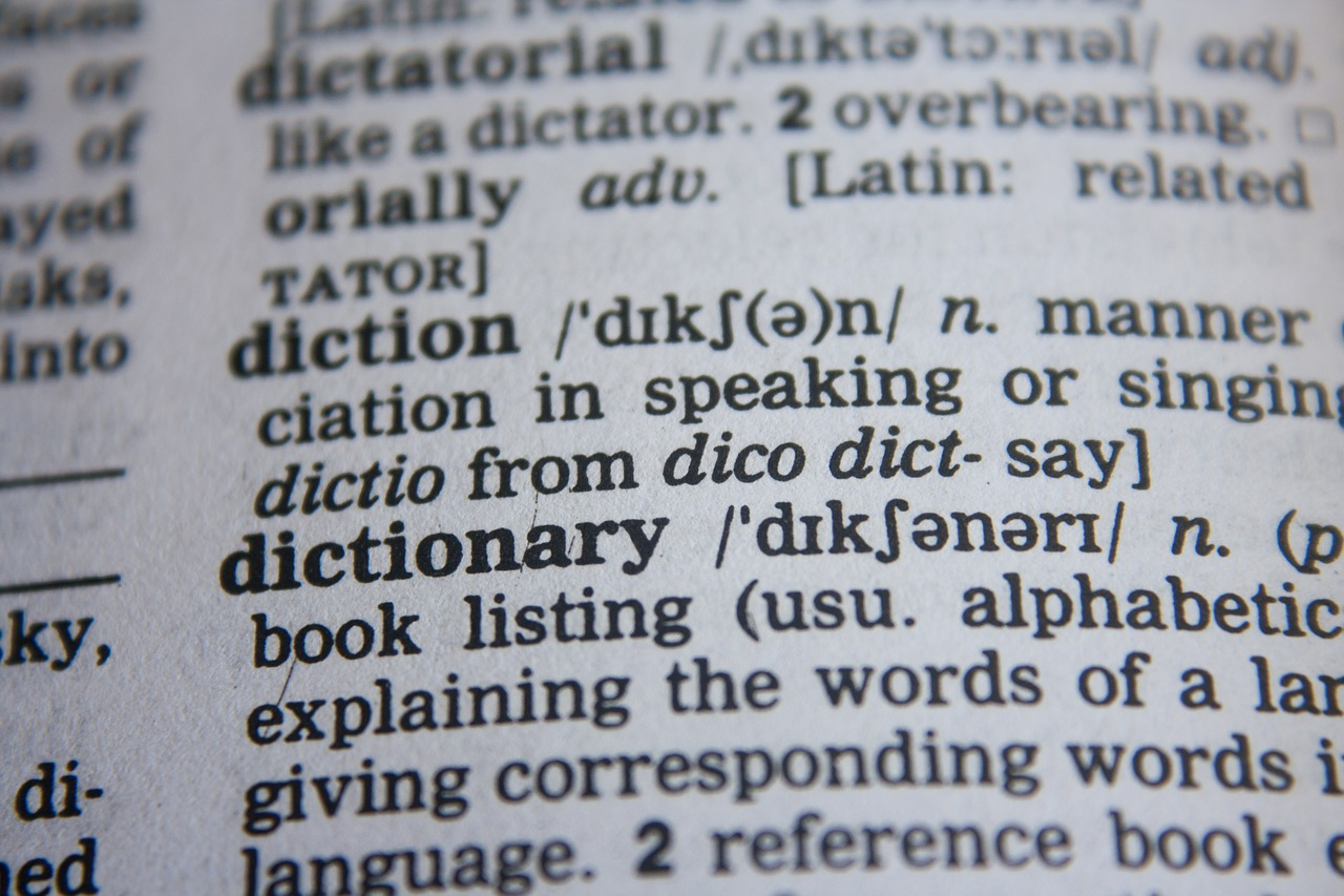 dictionary words abc free photo