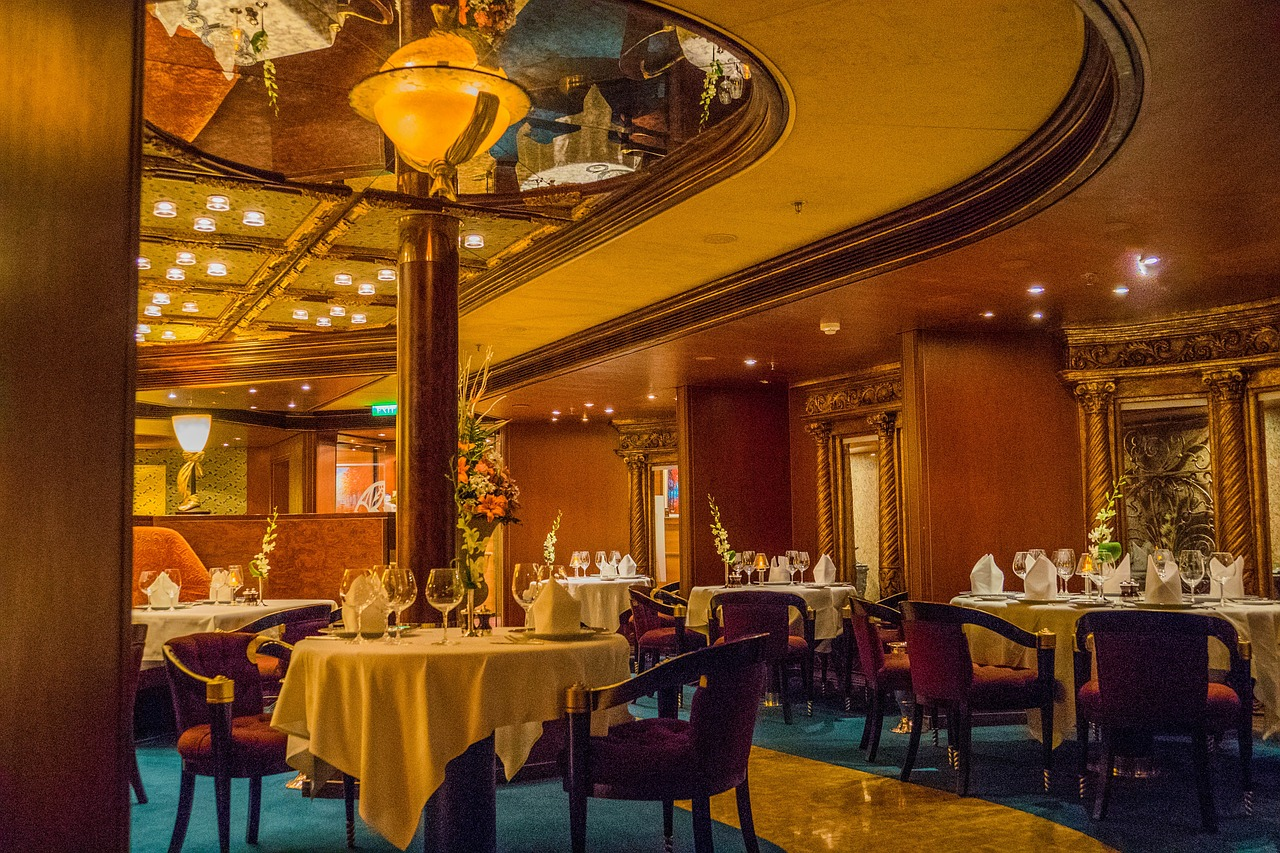 dining room elegant restaurant free photo